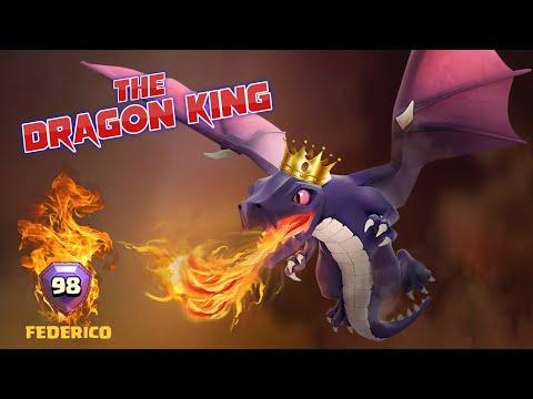 UNA GIORNATA IN LEGA LEGGENDA CON IL KING OF THE DRAGONS! Clash of Clans