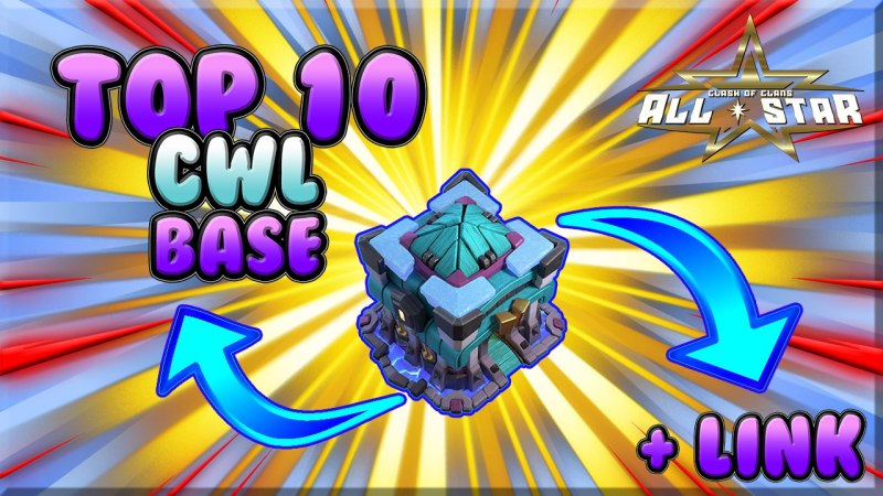 TOP 10 TH13 War Base With Copy Link / Clash of Clans