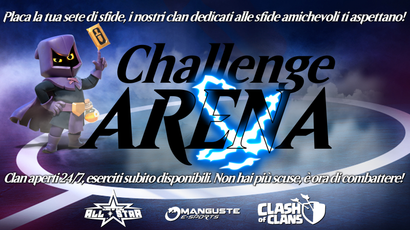 All Star presenta: Challenge ARENA!