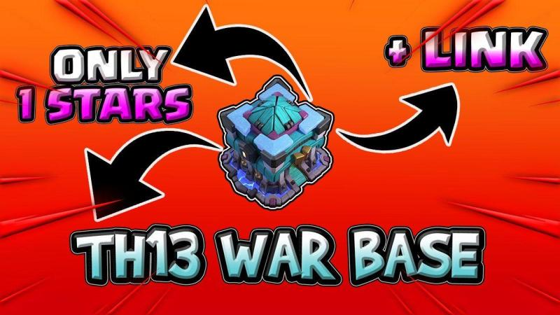 6 New Unbeatable TH13 EXCLUSIVE WAR BASES | WITH COPY LINK IN DESCRIPTION 2020 COC | th13 war base
