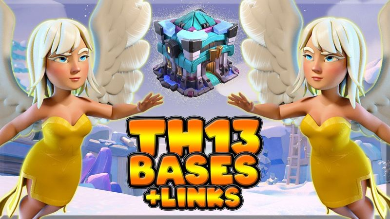 TOP 10 TH13 WAR BASES/CWL + LINKS 2020 l Best Town Hall 13 War Base Clash of Clans