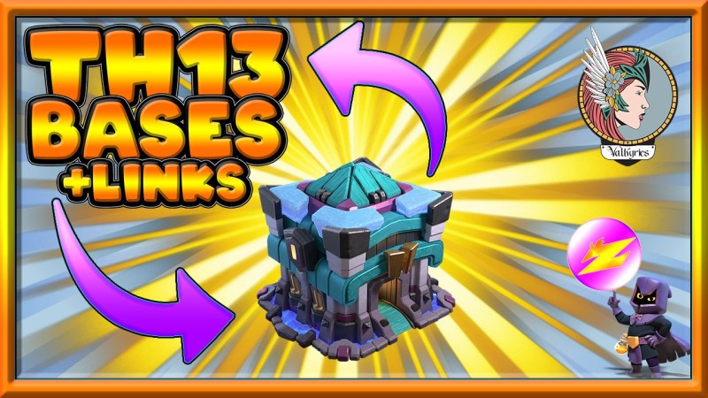 *NEW* TOP 10 TH13 WAR BASE (2020) + LINK | Base Link Given in Video Description Clash of Clans