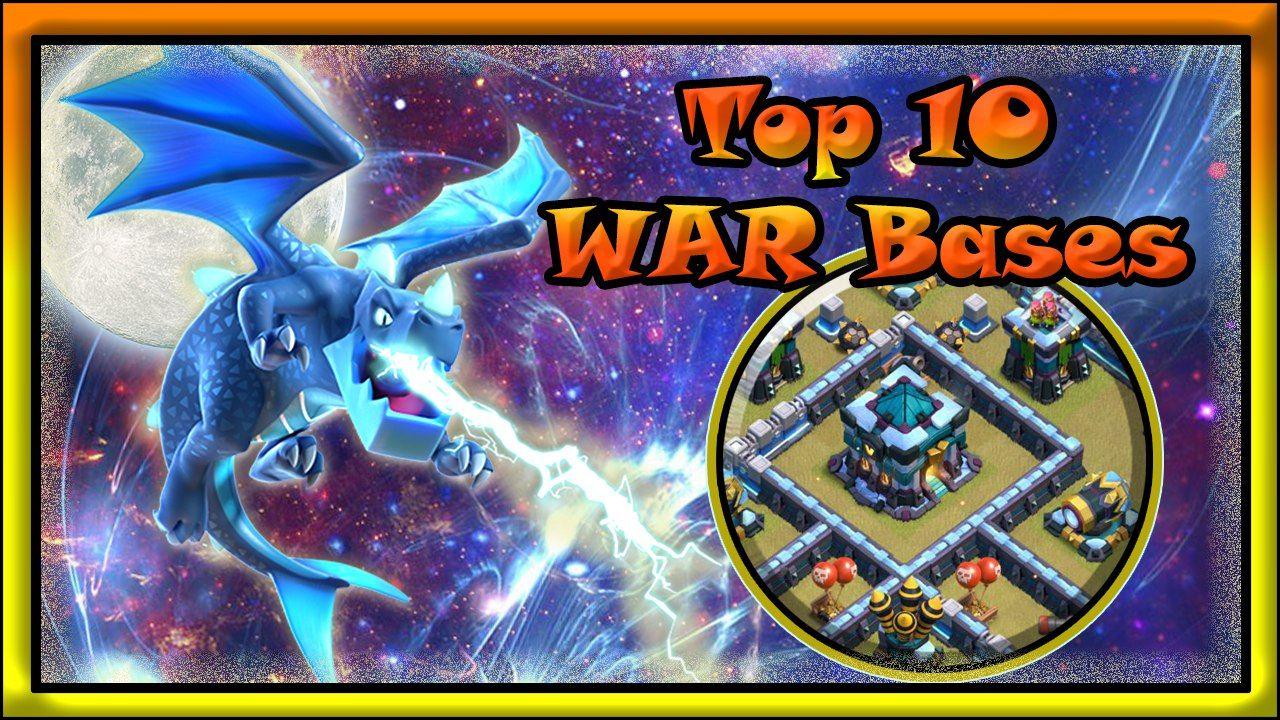 New TOP 10 TH13 WAR BASE LINK | Best Th13 Anti 2 Stars WAR BASE 2020