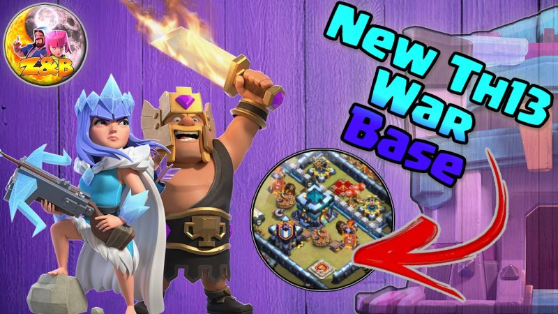 NEWTH13 WAR BASE/CWL + LINK 2020 October Best Town Hall 13 War Base Clash of Clans COC