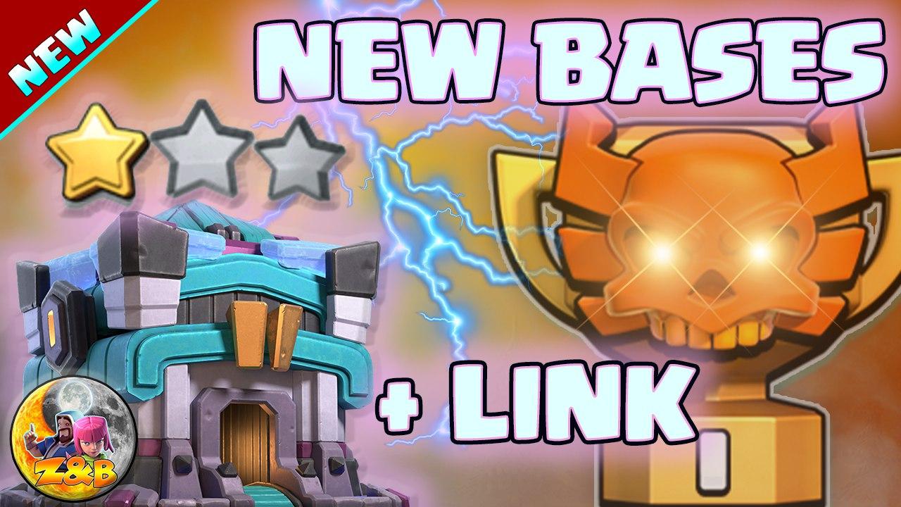 Only 1 Star Th13 CWL war base   Anti 2 Star Anti Hybrid Clash of Clans