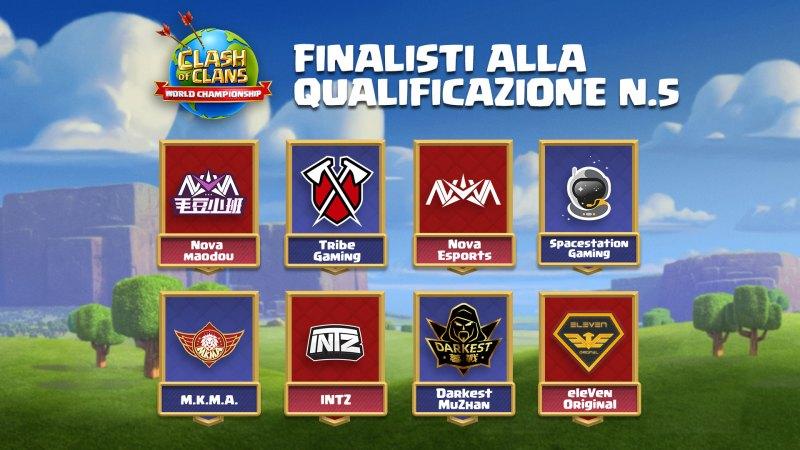 Clash World Championship 2020 – Finalisti alla qualificazione n.5