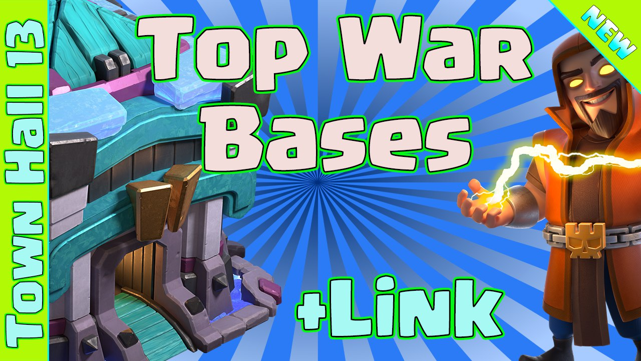NEW 4 BEST TH13 WAR Base With Link | Th13 Base 2021 | Clash of Clans