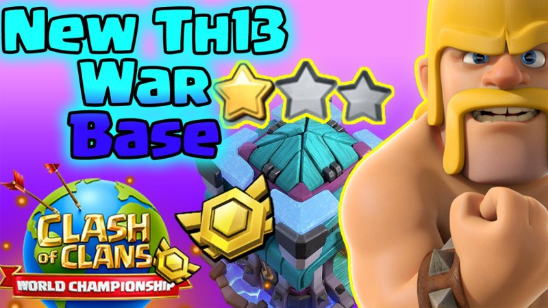 Th13 War Base + Link (2021) | | Unbeatable 👌🏻Th13 War Base 2021