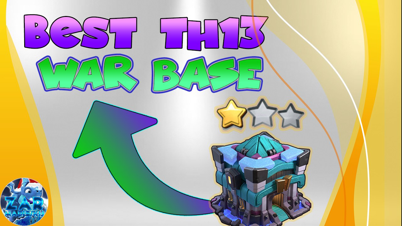 CLASH OF CLANS | BEST TH13 WAR BASE + LINK 2021