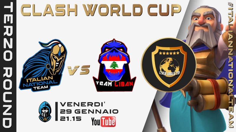 TERZA Week dell'Italia al Mondiale di Clash of Clans