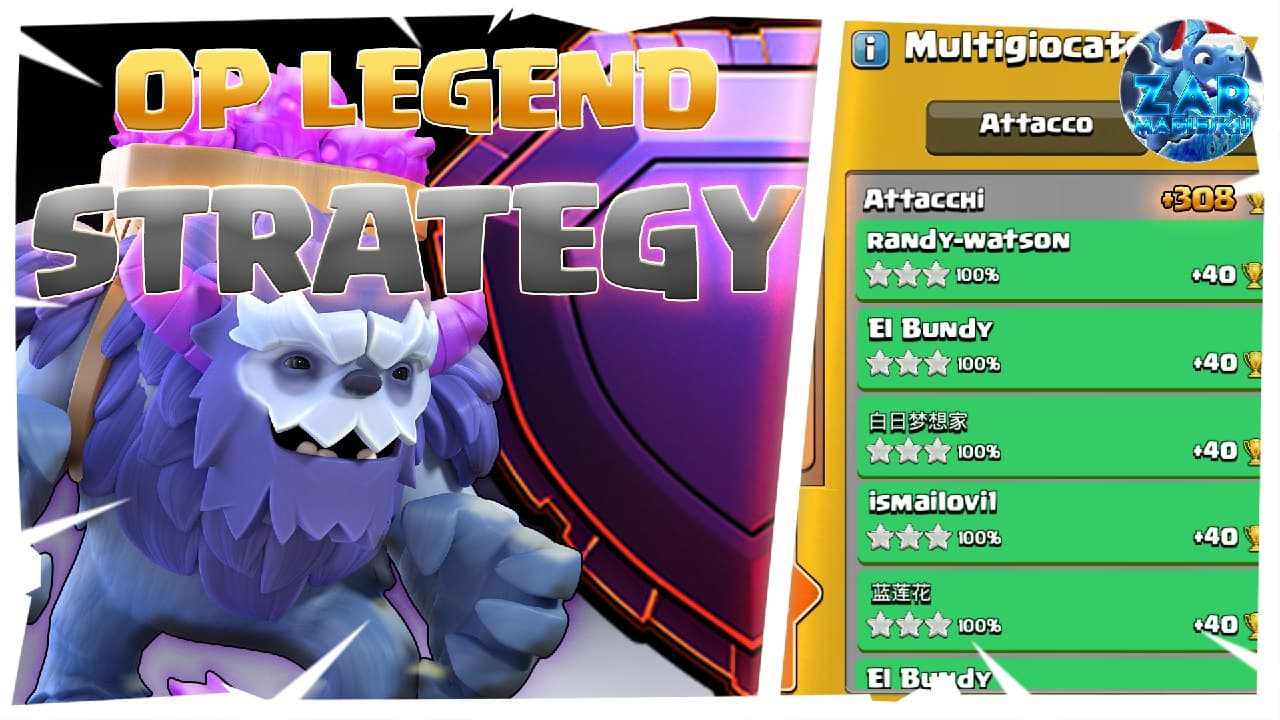 THIS TH13 STRATEGY DOMINATES LEGEND LEAGUE 2021