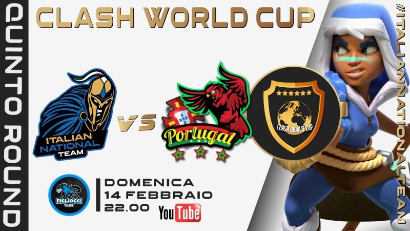 CWC WEEK 5 – GRUPPO C ITALIA vs PORTOGALLO