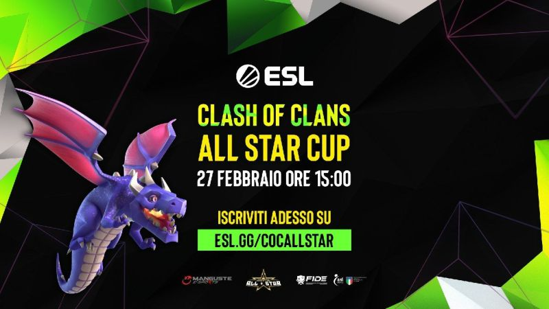 Al via le CoC All Star Cup