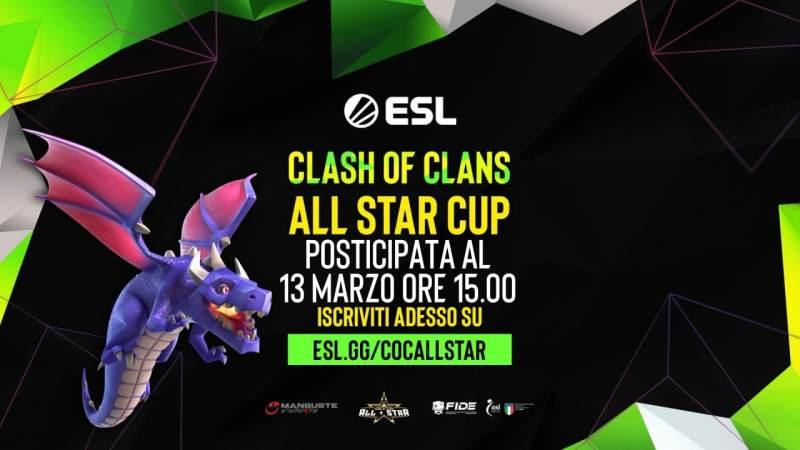 Iscriviti anche tu alle AllStar Cup su ESL