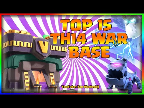 Top 15 Th14 War Base with Link | *New* Top 6 Th14 War Base With Link | Th14 Anti 2 Star War Bases
