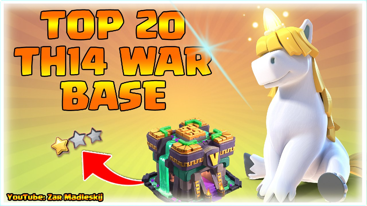 NEW 20 th14 war Base With link