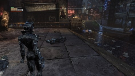 Playing as Catwoman