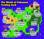 Map screen and locations.