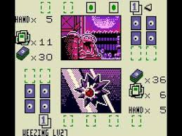 Table layout that amazingly fits into Gameboy screen