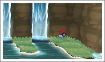 This one shows a 3D pokeball.