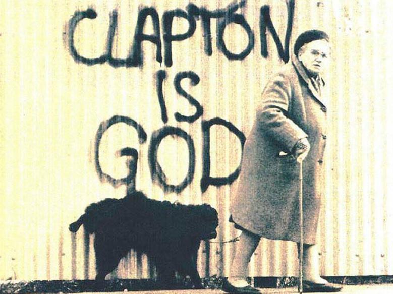 Graffiti Wallpaper Hd Clapton Is No Longer God