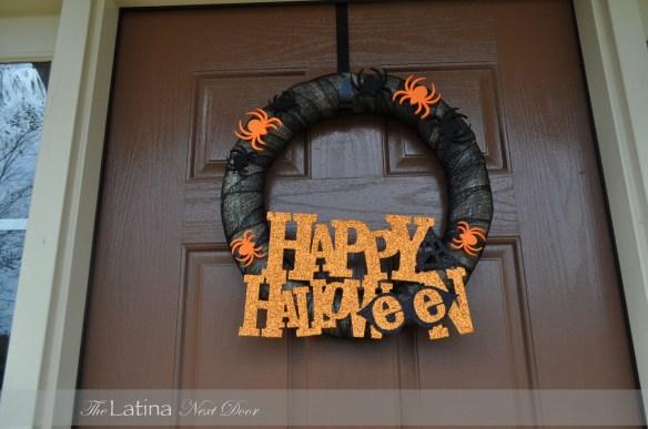 Halloween Wreath 1024x680 10 Minute Halloween Wreath