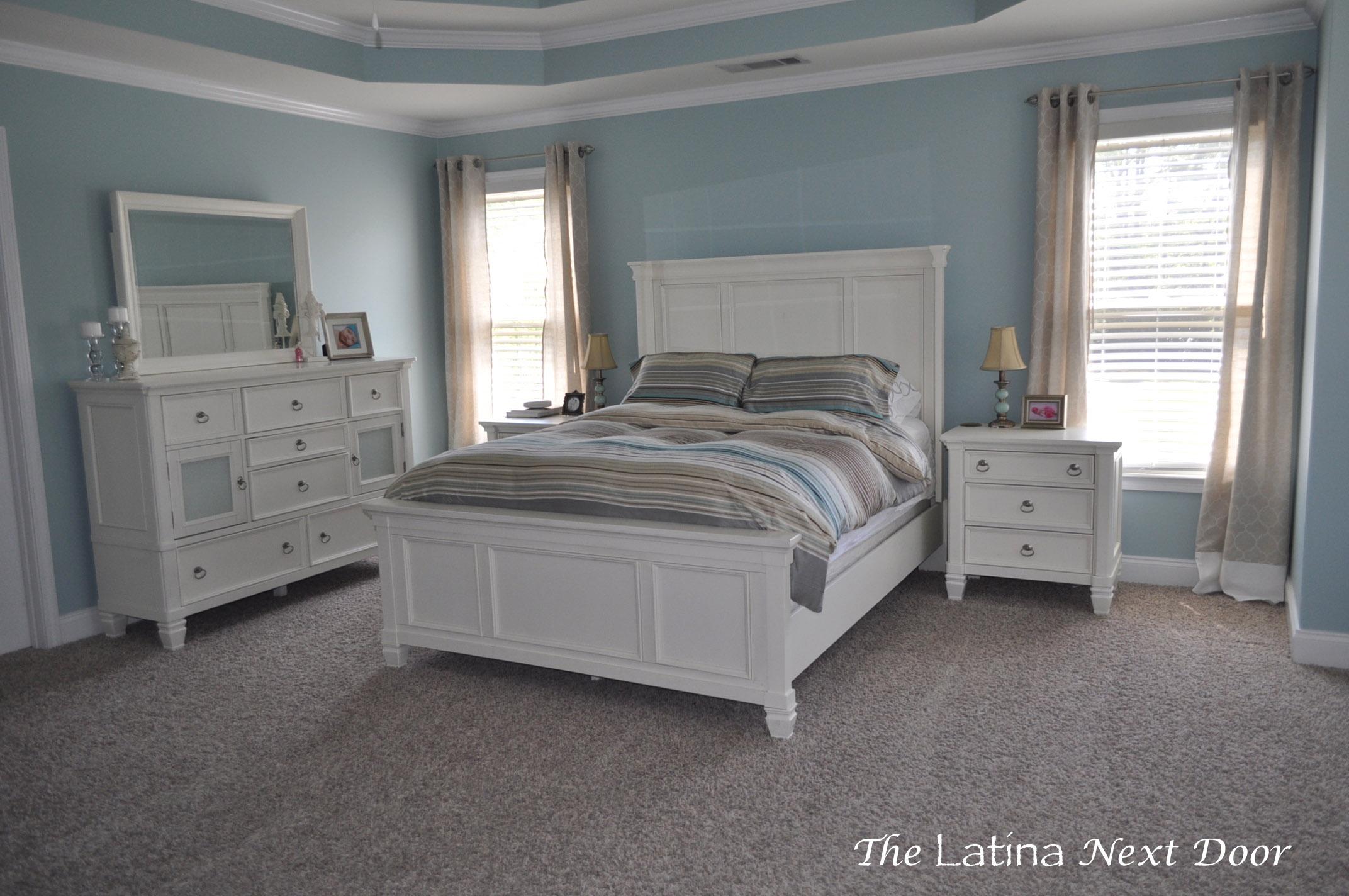 Master Bedroom Progress The Latina Next Door