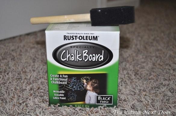 Chalkboard Paint 1024x680 Chalkboard Serving Dish
