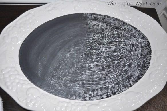 White Dish Chalkboard 2 1024x680 Chalkboard Serving Dish