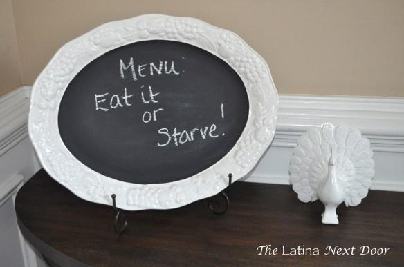 White Dish Chalkboard 5 1024x680 Chalkboard Serving Dish