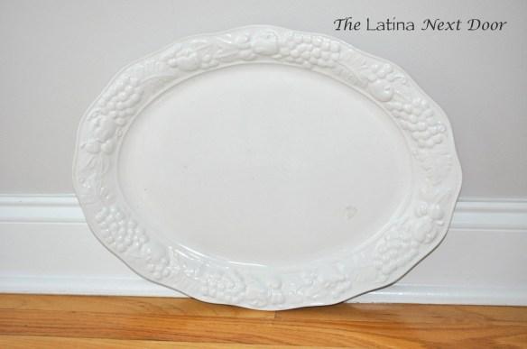 White Dish 1024x680 Chalkboard Serving Dish