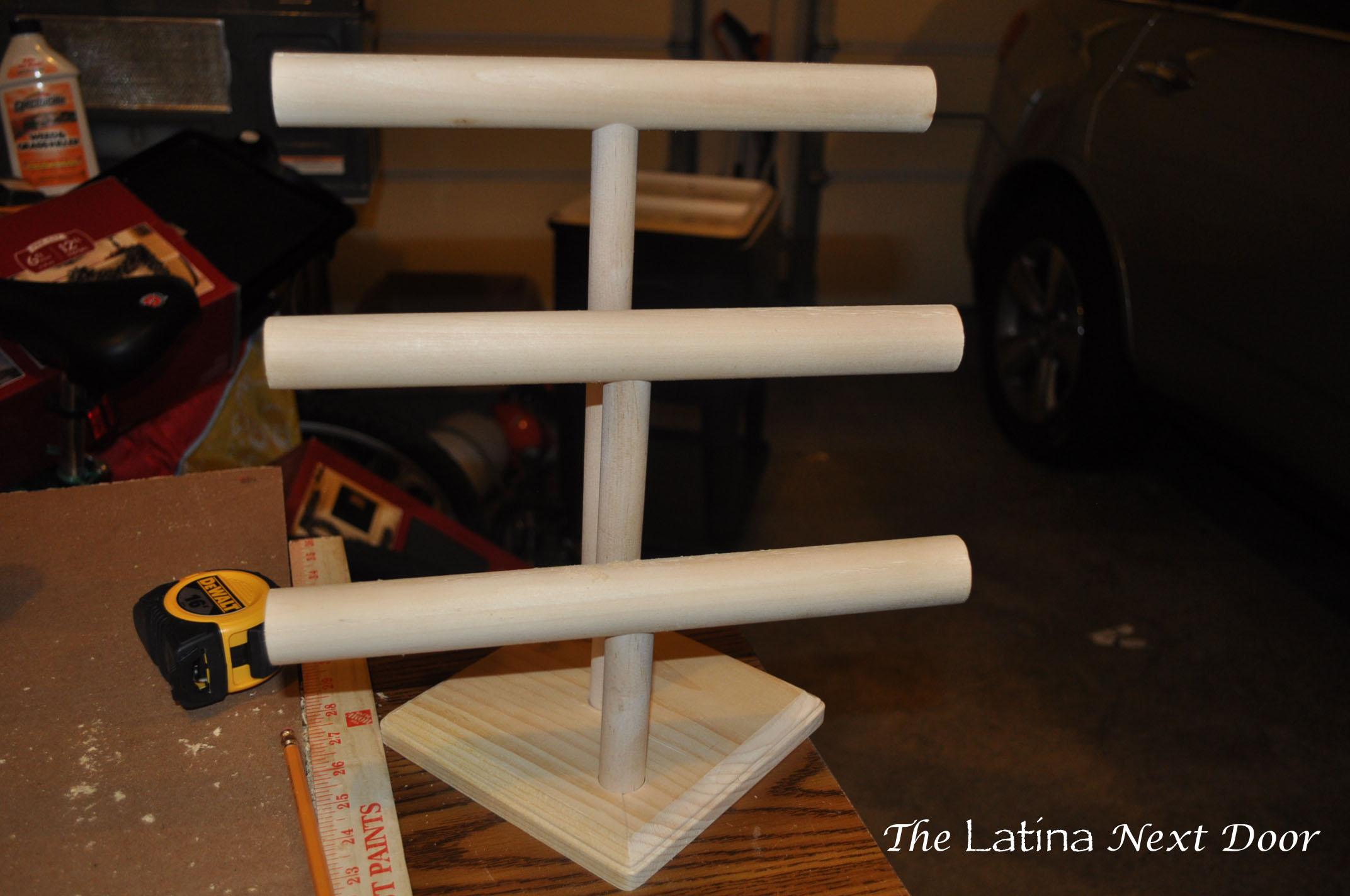 DIY Jewelry Holder The Latina Next Door