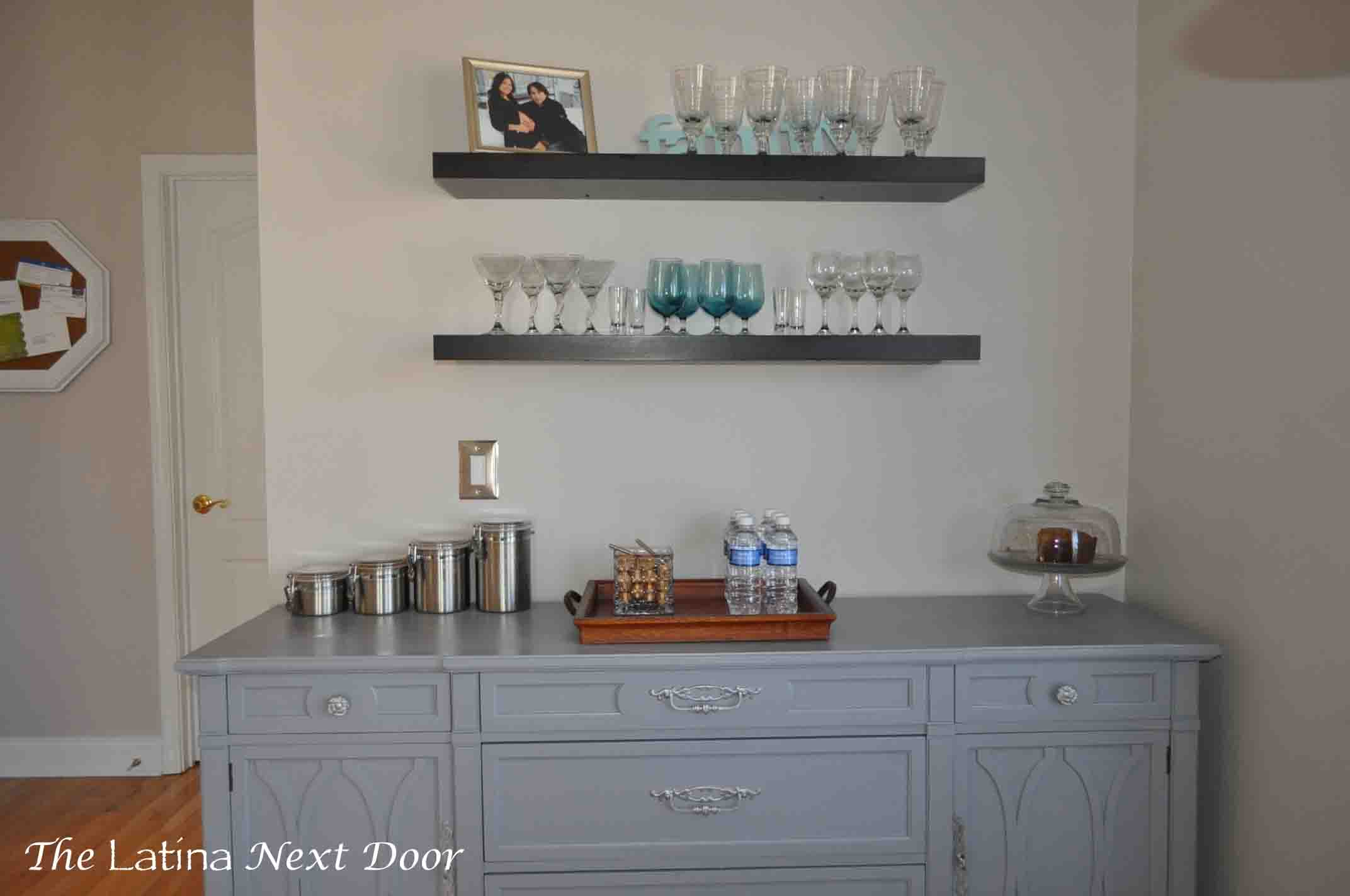 Dresser Turned Buffet 14 Dresser Turned Buffet