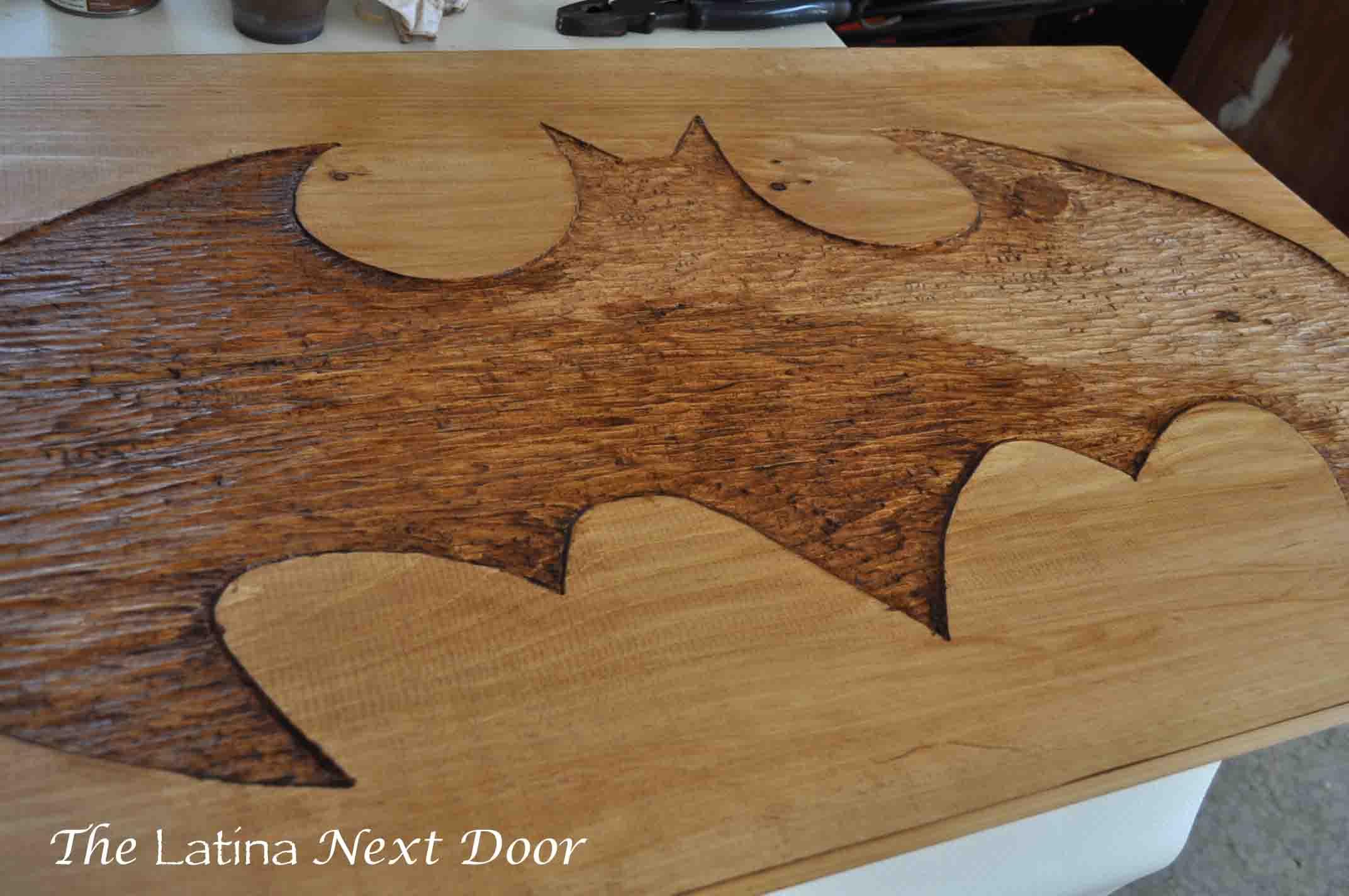 DIY BATMAN Art 15 DIY Batman Carved Art