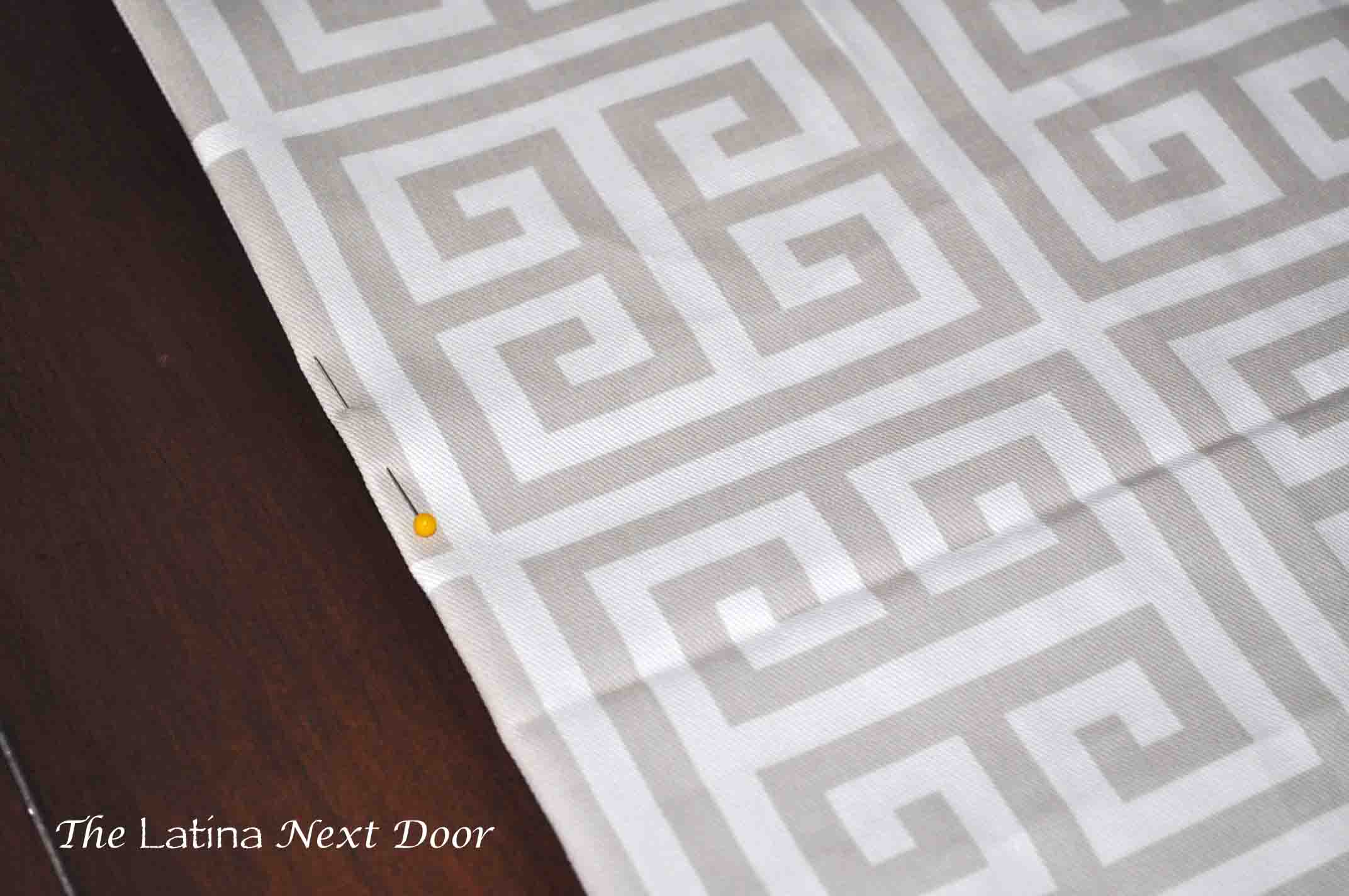 How to Sew a Table Runner 3 How to Sew a Table Runner