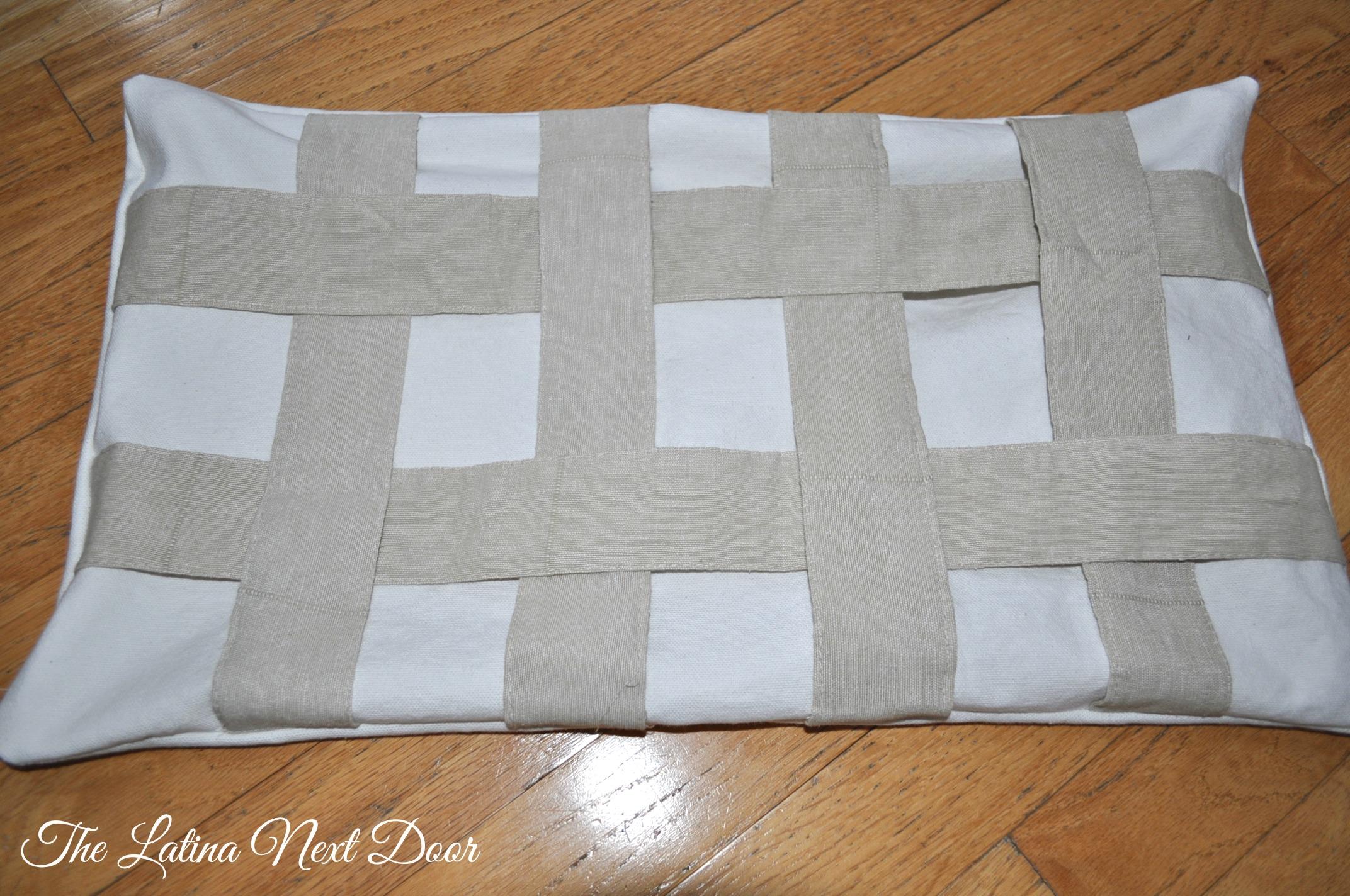 Tie Back Pillow 5 Repurpose those unused curtain tie backs
