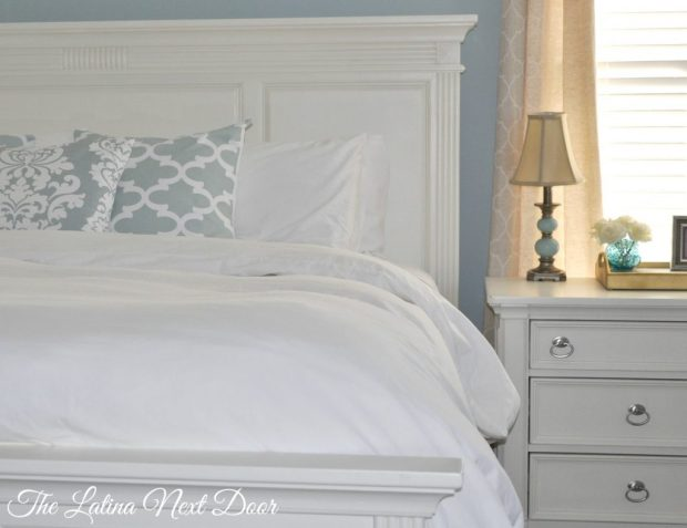 King Bed Makeover 2 1024x788 Februarys Round Up