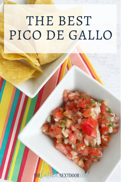 Best Pico De Gallo Recipe...Ever!