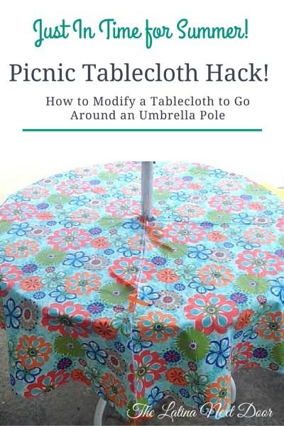 Tablecloth hack