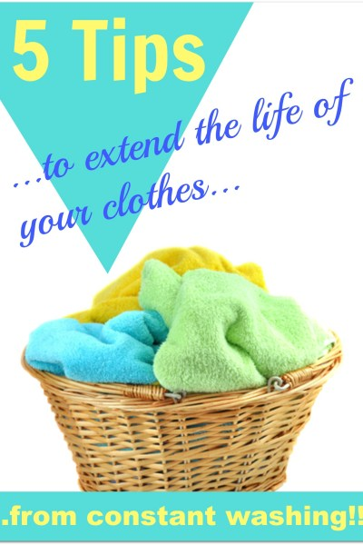 extending the life of your clothes
