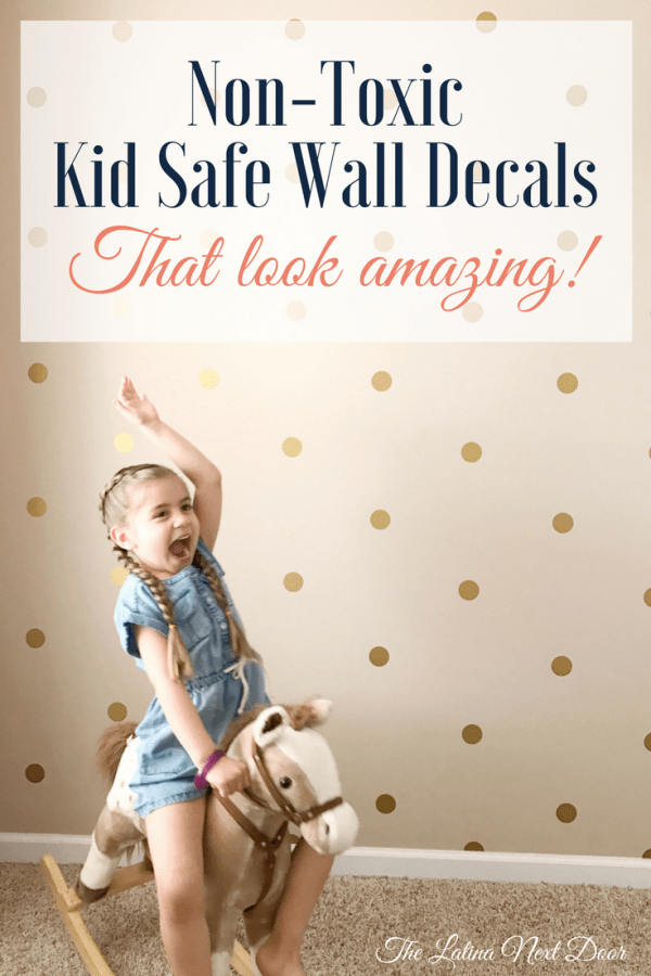 Non Toxic Wall Decals for Nursery Monthly Round Up   March 2017