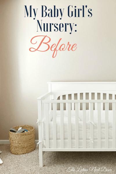 Daughter's Nursery Before