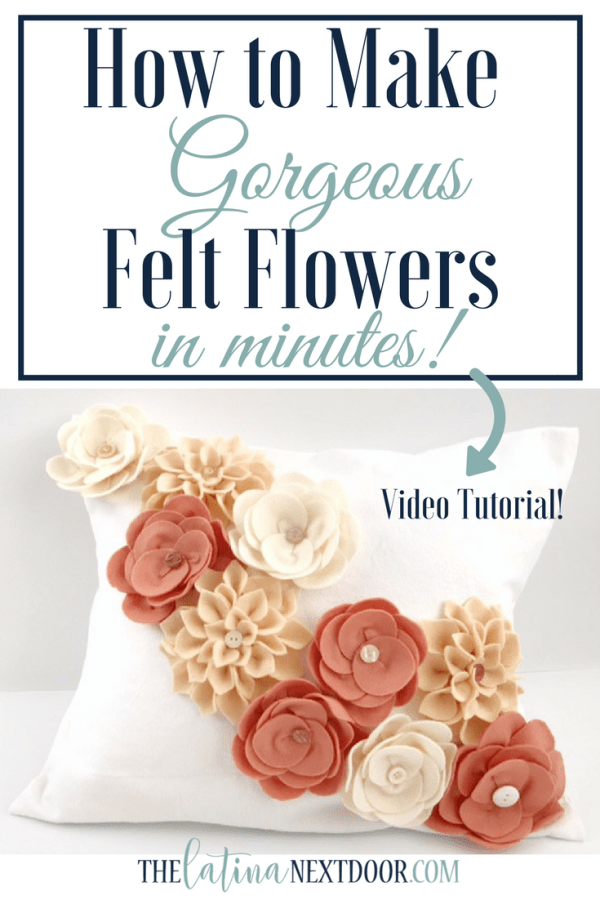 How to Make Felt Flowers 1 Monthly Round Up   May 2017