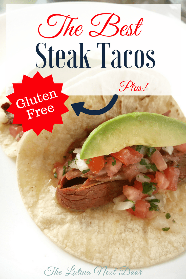 The best steak tacos no gluten The Best Steak Tacos for Cinco De Mayo