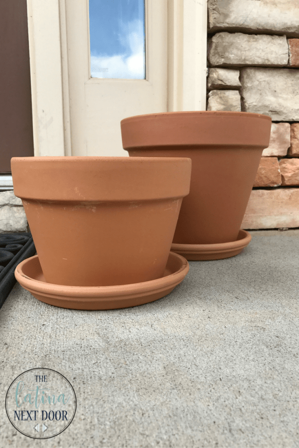 DIY Painted Terra cotta pots 4 DIY Painted Terra Cotta Pots