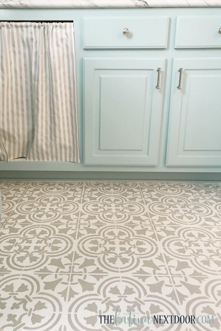 How To Paint Linoleum Floors The Latina Next Door
