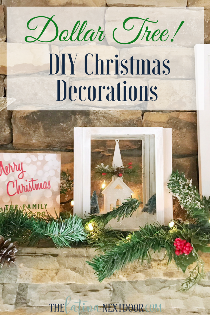Diy Christmas Decorations Using Dollar Tree Products The