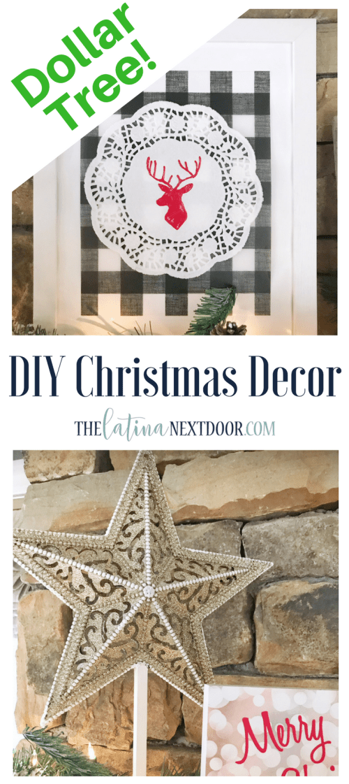 Dollar Tree Christmas DIY Christmas Decorations Using Dollar Tree Products