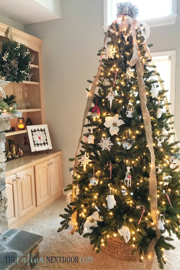 10 Rustic Chic Christmas Tree