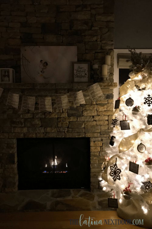 2 10 White Rustic Christmas Tree